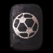 Несесер ARS UNA  FOOTBALL ADVENTURES с един цип на две нива С ПАЙЕТИ