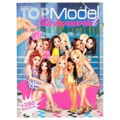 Книжка със стикери Top Model