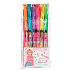 Комплект цветни химикалки TOP MODEL неон  6 цвята