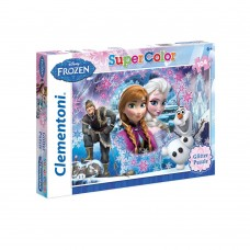 CLEMENTONI Пъзел Glitter FROZEN Queen of the North mountain