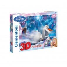 CLEMENTONI 3D Пъзел FROZEN
