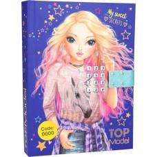 Музикален таен дневник с код Top Model