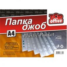 Джоб с перфорацияTopOffice А4 50 микрона кристал 100 бр.