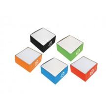 Кубче бяла хартия в картон.поставка, 88х92х45 мм