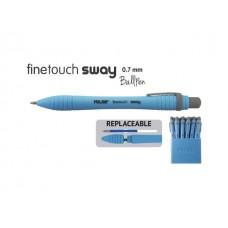 Химикалка MILAN автоматична  Sway Fine Touch 0.7 мм, синя