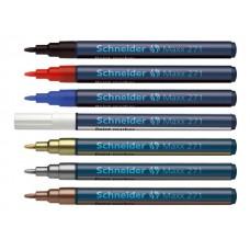 Маркер покриващ объл Schneider  Maxx 271, 1-2 мм
