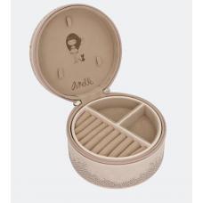 Кутия за бижута Anekke, малка, 10х4,5х10см, розова