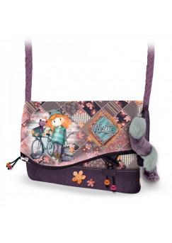 Чанта за през рамо с капак Ninette, Bicycle