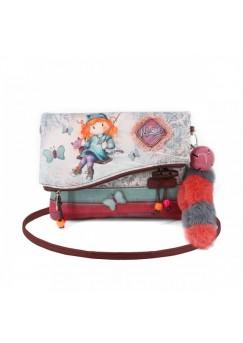 Чанта за през рамо с капак Ninette, Swing