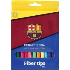 Флумастери Barcelona, 12 цвята