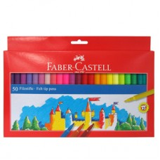Флумастери 50 Цвята, Faber-Castell