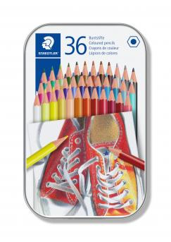 Цветни моливи Staedtler Comic 175, 36 цвята в метална кутия