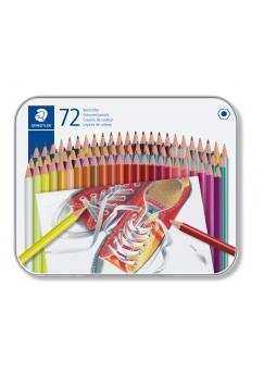 Цветни моливи Staedtler Comic 175, 72 цвята в метална кутия