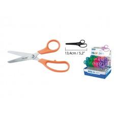 Ножица неонови дръжки  MILAN BASIC