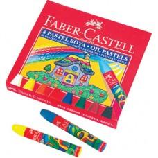 Маслени пастели Faber Castell , 8 цвята