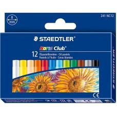 Маслени пастели Staedtler , 12 цвята