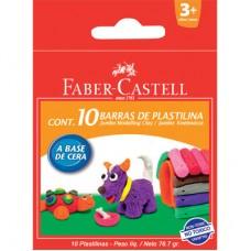 Моделин клей Faber Castell Jumbo 10 цвята
