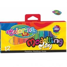 Пластелин Colorino Kids 12 цвята