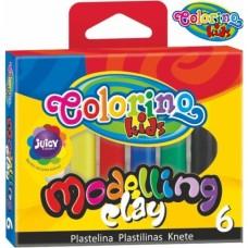 Пластелин Colorino Kids 6 цвята
