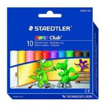Пластилин Staedtler Noris Club 8420, 10 цвята