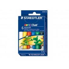Пластилин Staedtler Noris Club 8420, 6 цвята