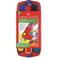 Акварелни бои Faber Castell, Conector 12 цвята